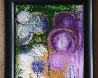 "Original acrylic abstract ""Faithfulness"""