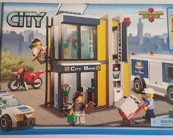 Lego City Bank & Money Transfer Special Edition