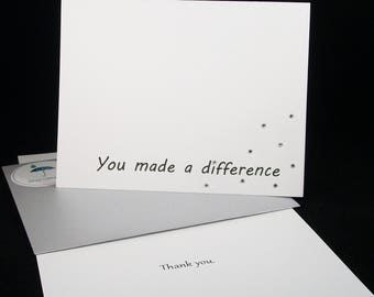 You Made a Difference