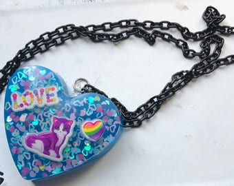 Love Kitty Necklace