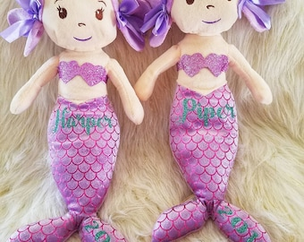 "Personalized 16"" Mermaids