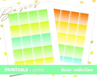 To Do List, Heart Checklist, Ombre Checklist, Printable Planner Stickers, Erin Condren Planner, St. Patricks Full Box Checklist
