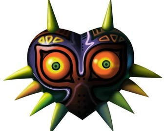 Legend of Zelda cross Stitch digital pattern majora's mask ocarina of time