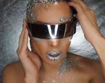 Laser robot space age sunglasses