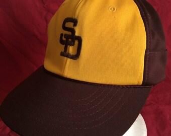 Vintage San Diego Padres cap hat-MLB-friars-the pads