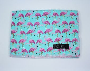 "Flamingo Extra Large Receiving Blanket - 36"" x 42"""