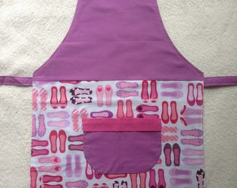 Kitchen apron child ballerina