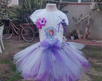 Sophia the 1st birthdaybl tutu dress