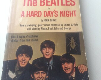 A Hard Day's Night by John Burke (Novel form of Alun Owen's Beatles script)