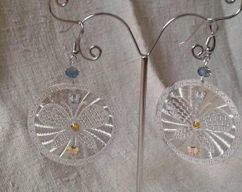 """""""large Butterfly charm"""" earrings"""