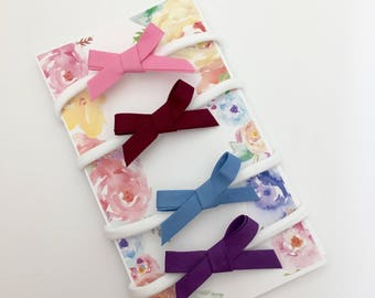 4-Pack Baby Girl Headbands