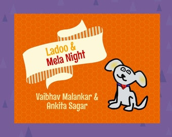LadooBook: Mela Night! Fun & engaging children's book about Indian culture! Great gift for young readers!