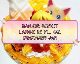 Sailor Scout Large Decoden Jars