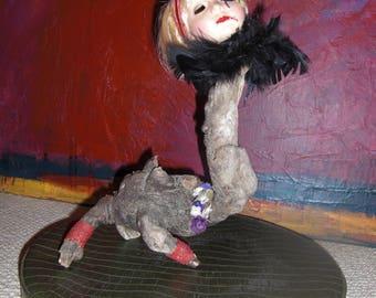 Driftwood Baby Doll, aka LongNeck Mirtle