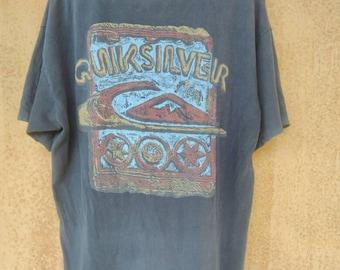 Vintage Quicksilver Single Stitch Free Shipping
