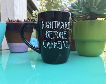 Nightmare Before Caffeine Mug