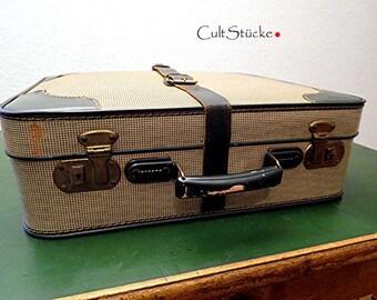 "Vintage 50s Smart Suitcase ""Gatsby"""
