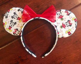 Mickey and Minnie Disney Mickey Ears