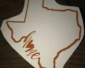 5 inch Home state decals