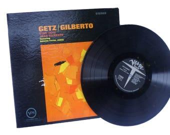 Getz/Gilberto Vinyl Jazz Record, Vintage Record Albums, Music Record, Bossa Nova, LP Records, Stan Getz, Vinyl LP, Music Deco, Music Gift