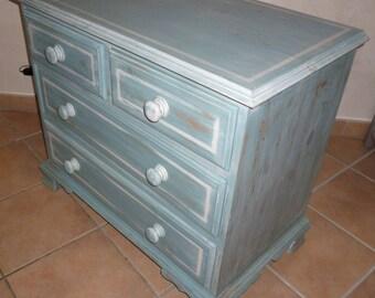 Beautiful blue Dresser