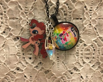 My Little Pony Charm Necklace/My Little Pony Jewelry/My Little Pony Pendant/My Little Pony Gift