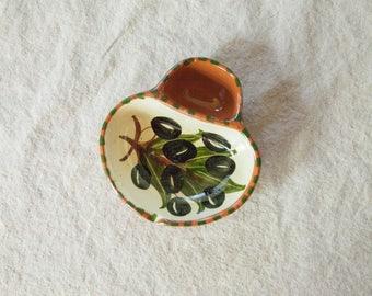 Vintage Olive Dish