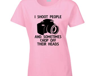 I Shoot People T Shirt