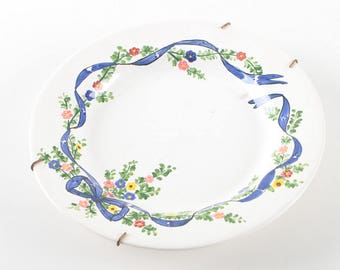 Hand Painted Plate, Made in Portugal / Decorative Plate Wall Art