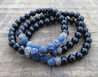 Blue Onyx Set