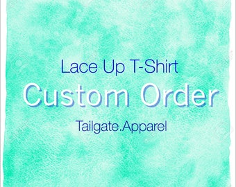 Made To Order: Lace Up Shirt