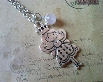 Princess Necklace ~ Silver Colors ~
