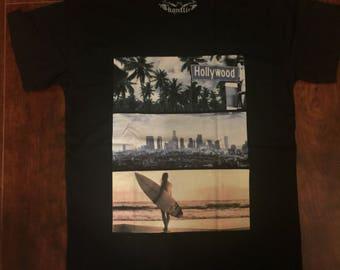 Konflic's hollywood Clssic design Basic men's Crew Neck T shirt