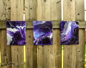 Purple Nimbus- Ainigma Designs Original