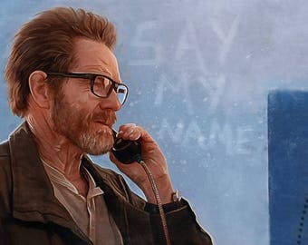 Walter White From The Last Season Of Breaking Bad At A Pay Phone
