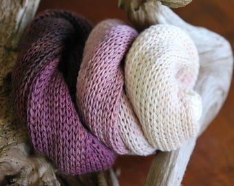 Hand Dyed Sock Yarn Blank - Grape Vines