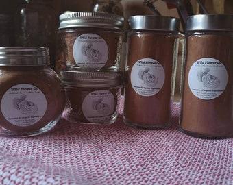 Medicinal Mushroom Hot Cocoa Mix - With powdered Organic Red Reishi Mushroom, Cinnamon + Organic Cocoa