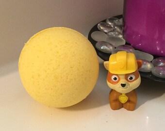 Surprise Rubble Paw Patrol Bath Bomb For Kids Bundle Set w/Shea Butter 7 oz FREE SHIPPING