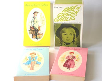 1960's Anne of Green Gables Boxed Set of Books