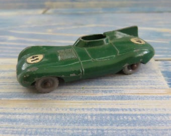 Vintage Die Cast Metal car- D type Jaguar made by Lesney (matchbox)Made in England