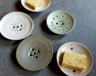 Soap dish ceramic unique
