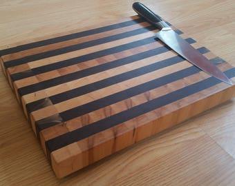 Walnut and Hard Maple End-Grain Cutting Board #7