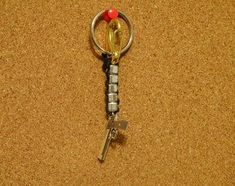 9mm Gun Keychain