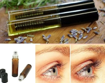 Herbal Infused Eyelash Growth Serum for longer eyelashes and eyebrows can be used on scalp and cuticles also anywhere hair is needed to grow