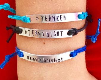 TeamKen / TeamKnight / Teamhusbot Corded Bracelet
