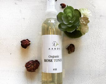 Organic Rosewater Toner