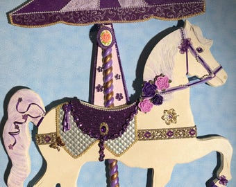 Carousel Horse Wall Art - CH-18
