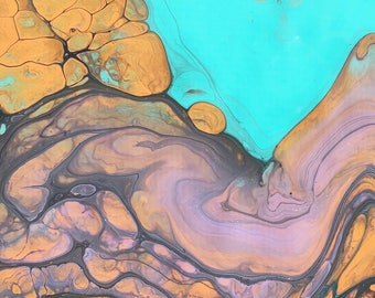 Epoxy Resin Art Graphic