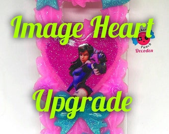 image heart upgrade, custom decoden case upgrade, decoden case add on