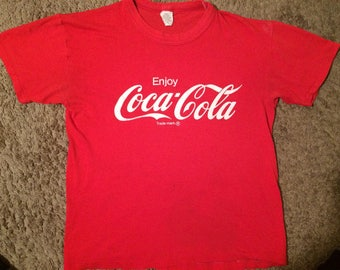 Vintage Coca Cola Rub Cinema shirt